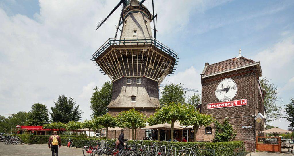 Brouwerij 't IJ, μπυραρία - παμπ Άμστερνταμ