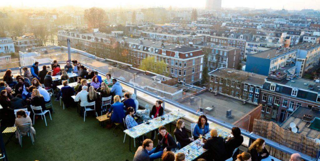 Canvas, ποτό στο Άμστερνταμ