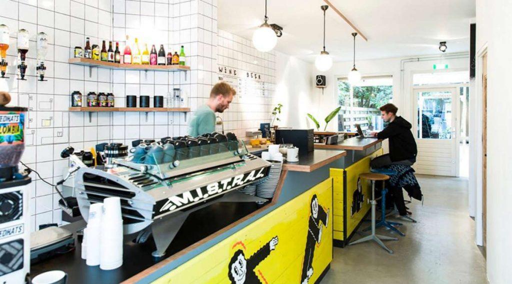 Fried Hats, καφέ Άμστερνταμ