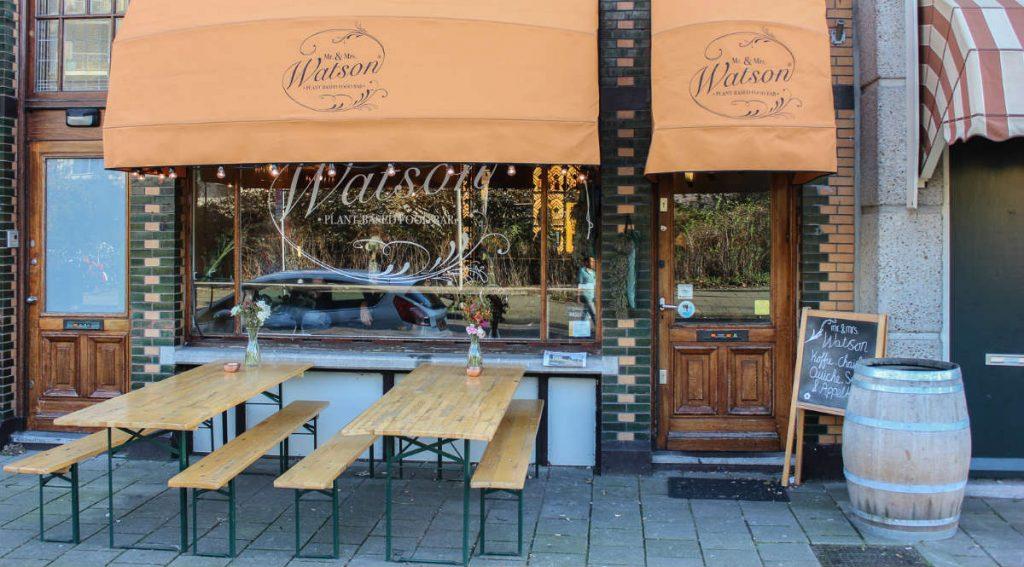 Mr & Mrs Watson, φαγητό Άμστερνταμ