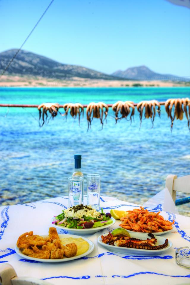 Best sea food Αντίπαρος