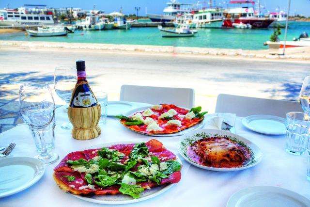 Best ιταλικό εστιατόριο Αντίπαρος