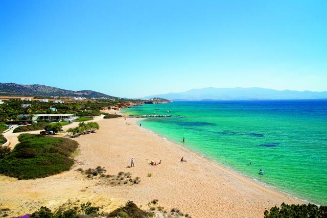 Αντίπαρος παραλίες