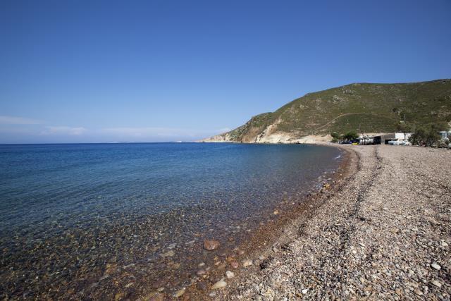 Λάμπη, παραλία Πάτμος