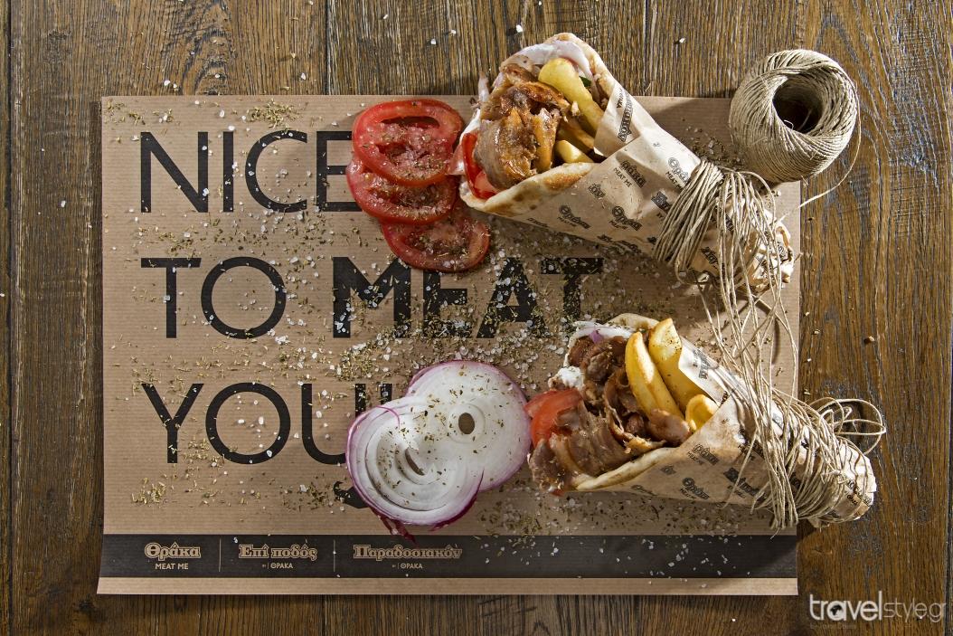 Θράκα The Original Meating Point