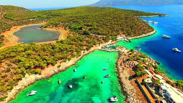 Αγκίστρι - νησιά κοντά στην Αθήνα