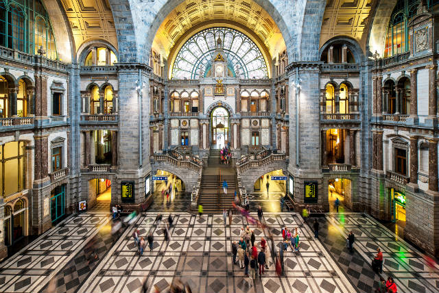 Antwerp Central station, Αμβέρσα, Βέλγιο