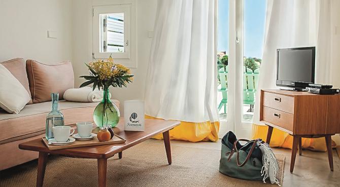 Δωμάτιο στο ξενοδοχείο Kamaroti