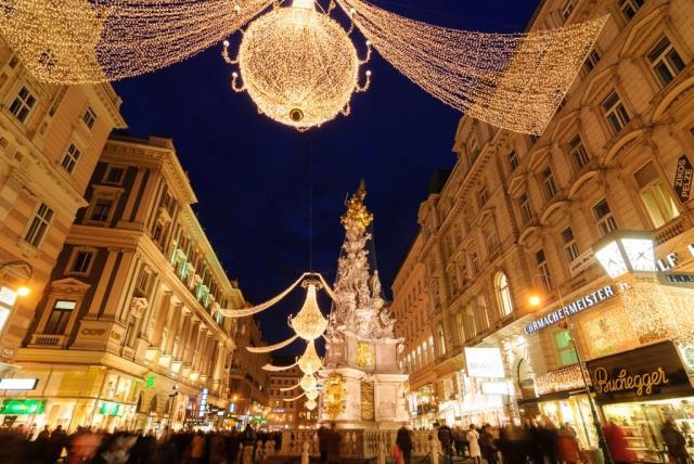 Στολισμένη Βιέννη - Χριστούγεννα