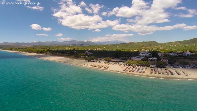 Παραλία Μαυροβούνι, Μάνη