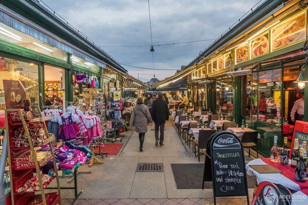 Αγορά φαγητού στη Βιέννη