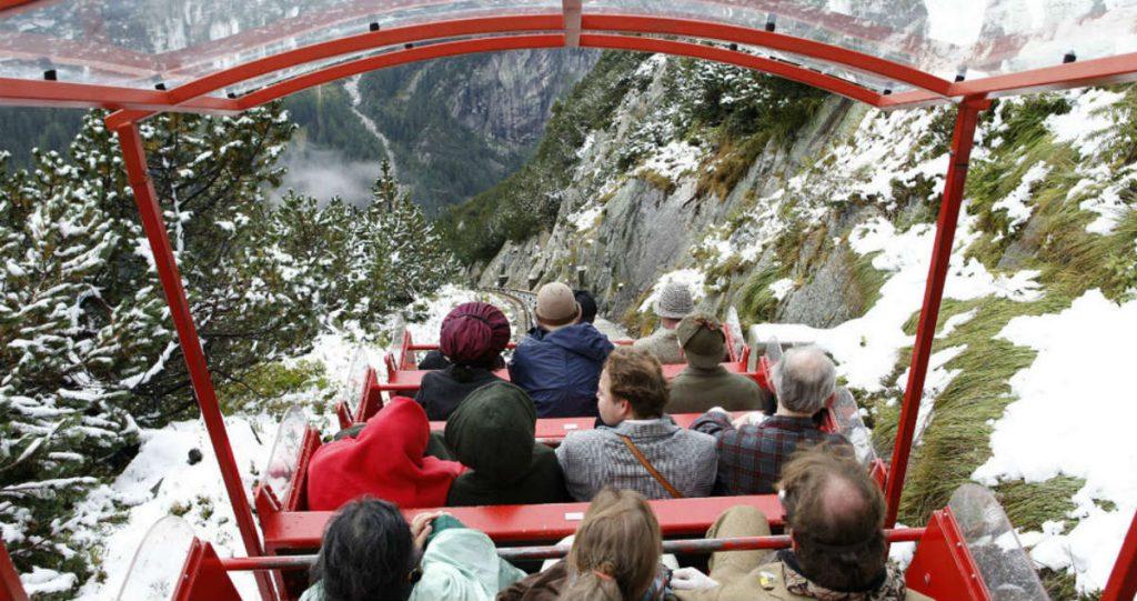 Τελεφερίκ Gelmerbahn, Guttannen, Ελβετία