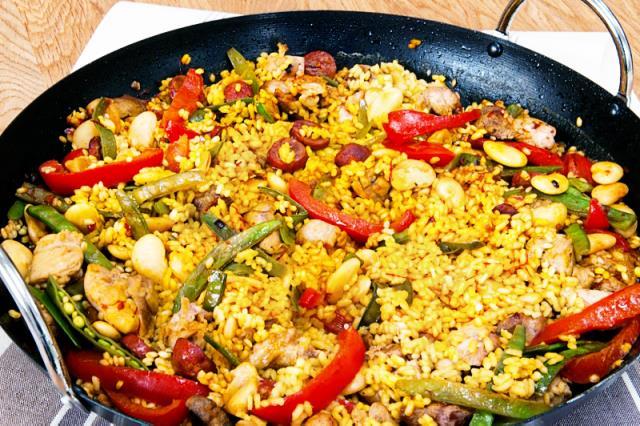 Valenciana - ισπανικά φαγητά