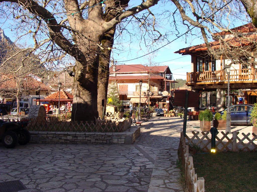 Χωριά του Παρνασσού