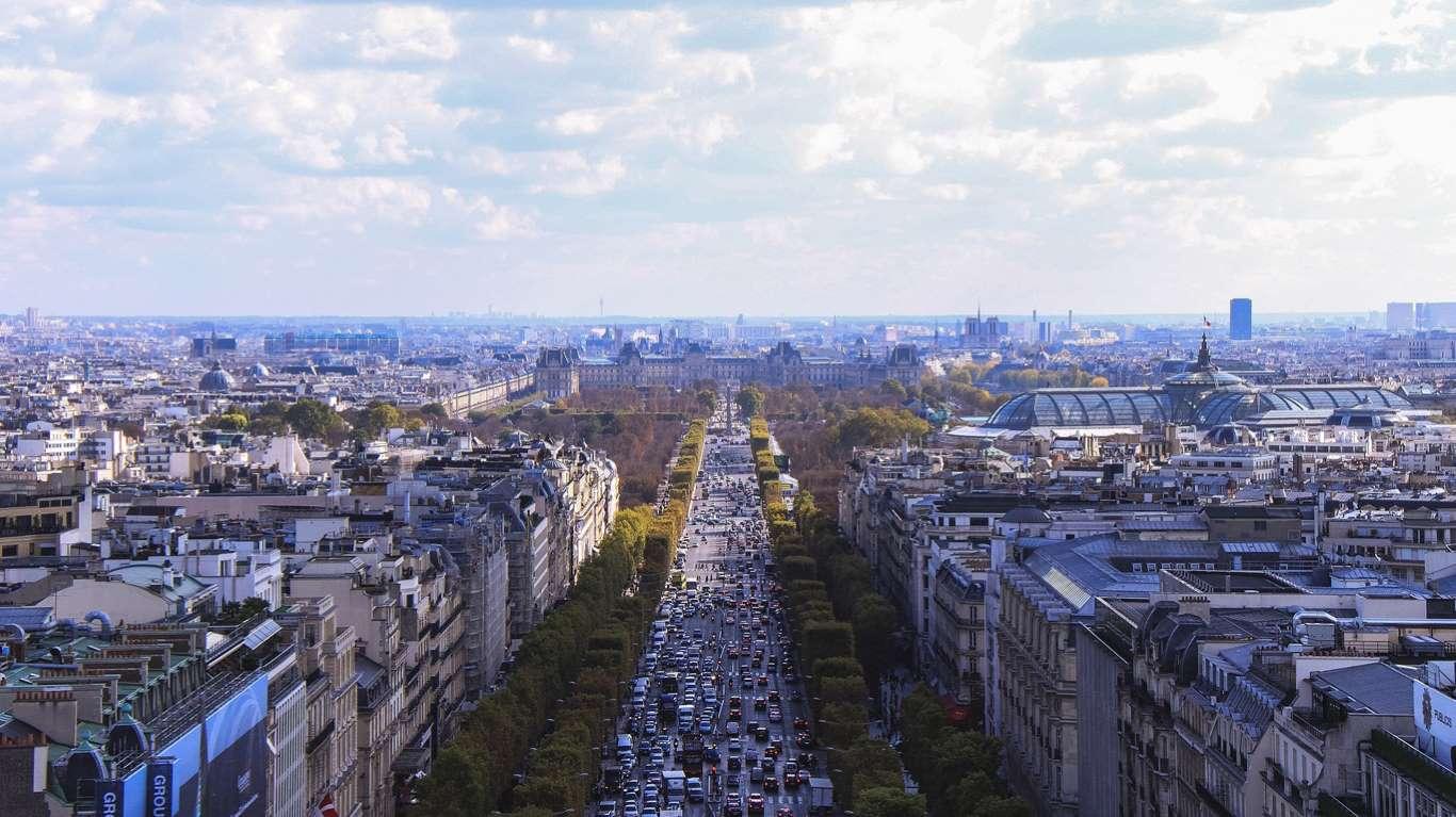 ωραιότεροι δρόμοι Παρίσι
