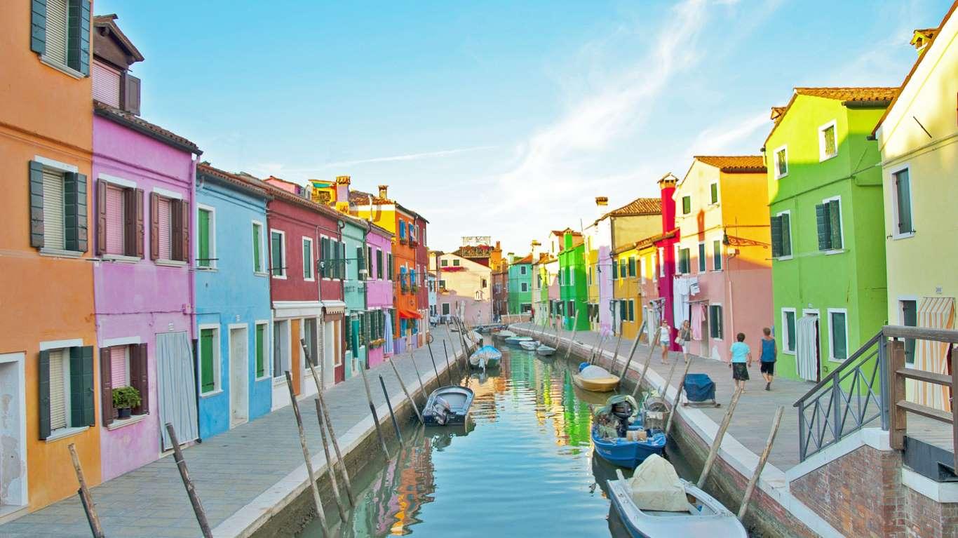 Ωραιότεροι δρόμοι Μπουράνο Ιταλία