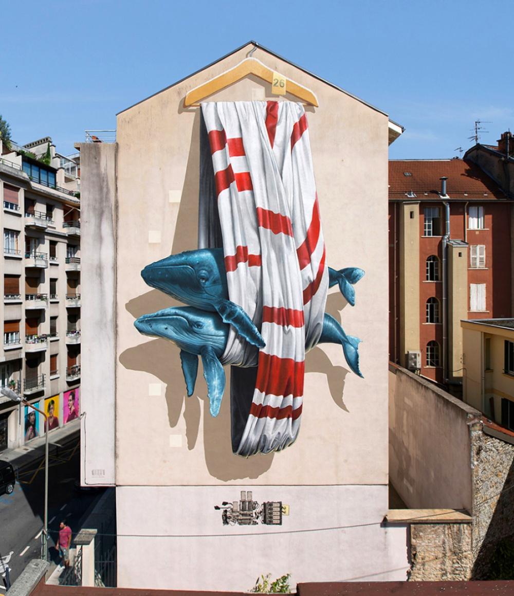 graffiti, Γκρενόμπλ, Γαλλία