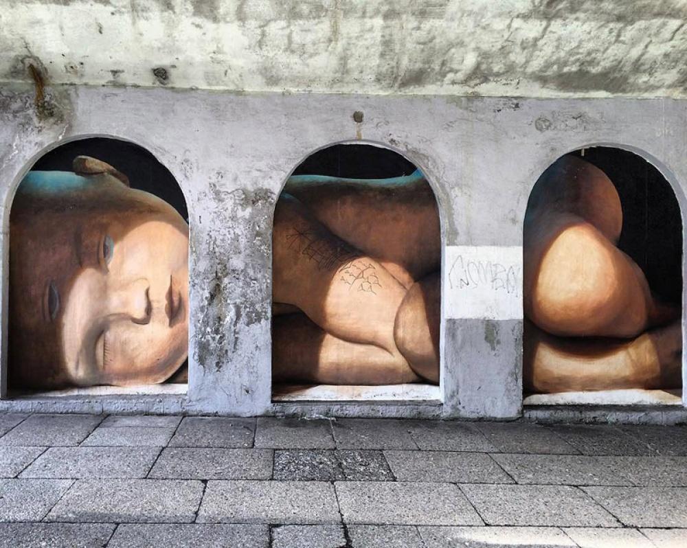 Μπέργκεν, Νορβηγία, graffiti