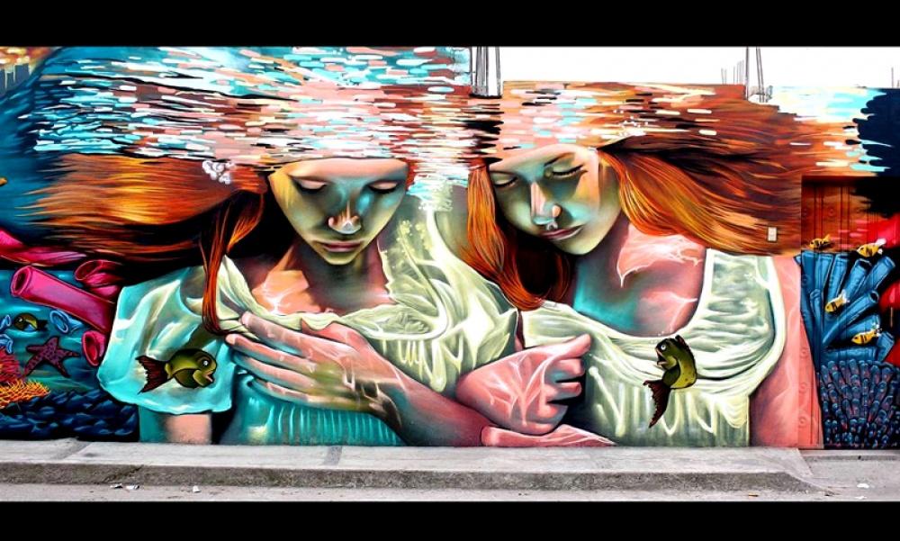 Σαν Πάολο Ντελ Μόντε, Μεξικό, graffiti