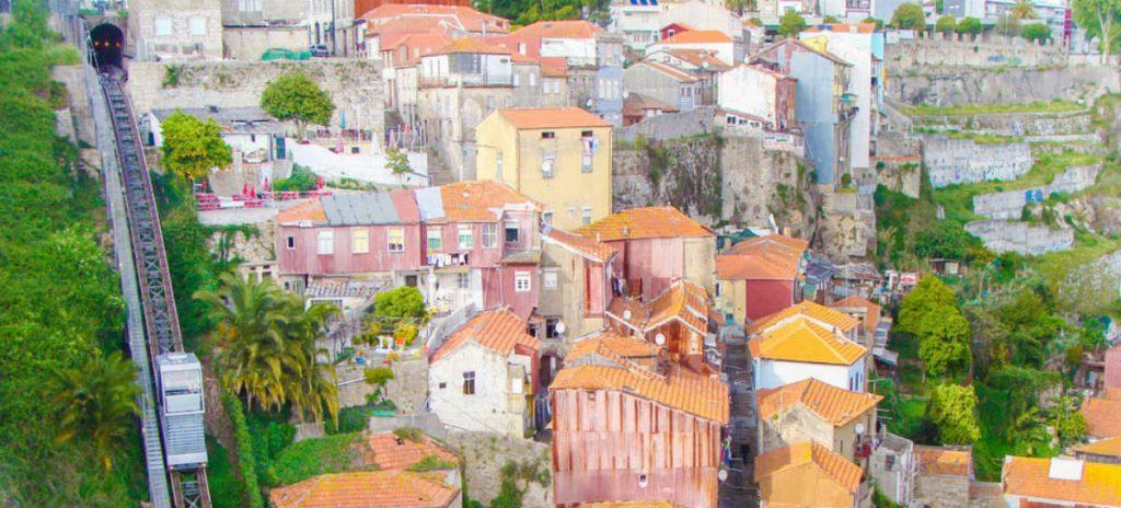 Τελεφερίκ Guindais, Πόρτο, Πορτογαλία