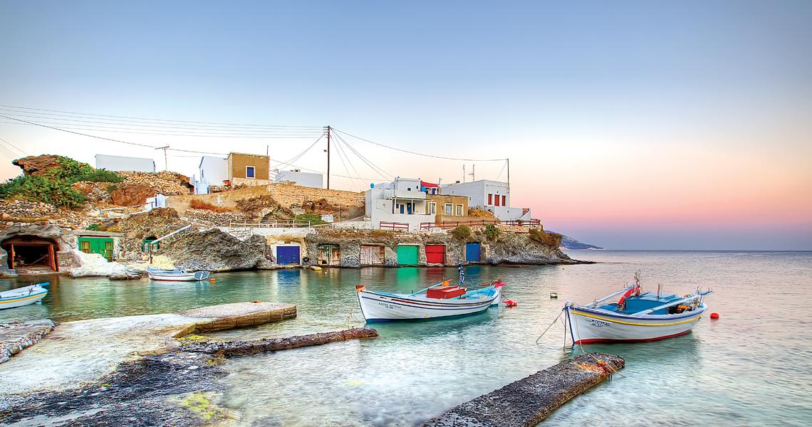 Κίμωλος πιο αγαπημένος προορισμός Ελλήνων
