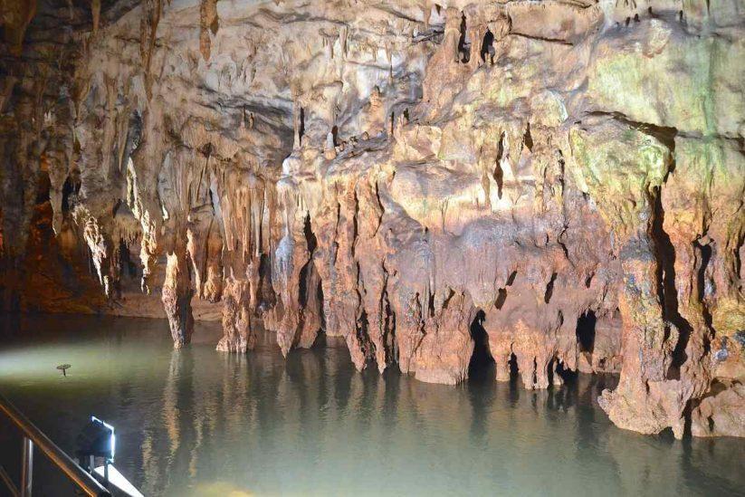 Σπήλαιο Αγγίτη Δράμα σταλακτίτες