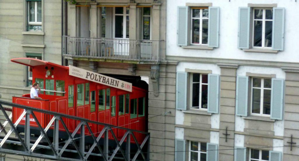 Τελεφερίκ Polybahn, Ζυρίχη, Ελβετία