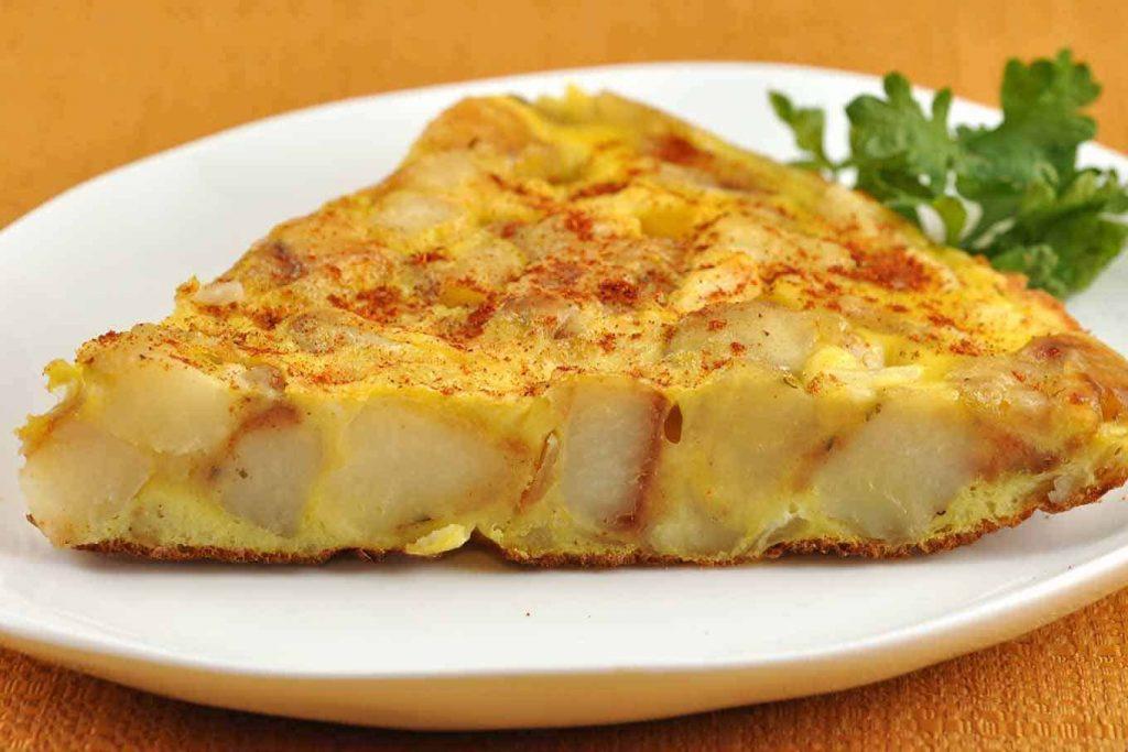 Tortilla - ισπανικά φαγητά