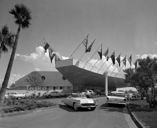 7/27/57 Tropicana front day