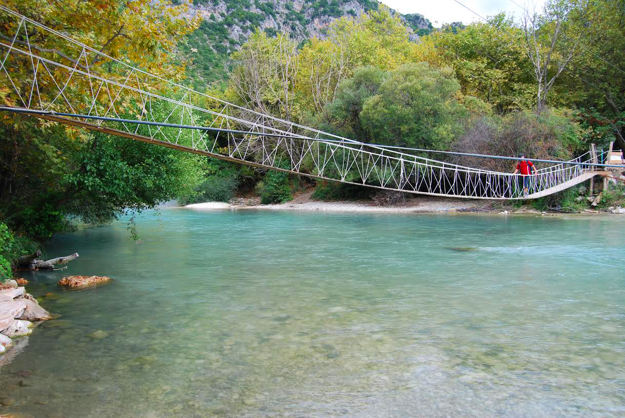 Γέφυρα στον ποταμό Αχέροντα