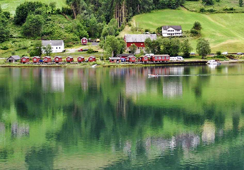 Olden ένα γραφικό χωριό στη Νορβηγία