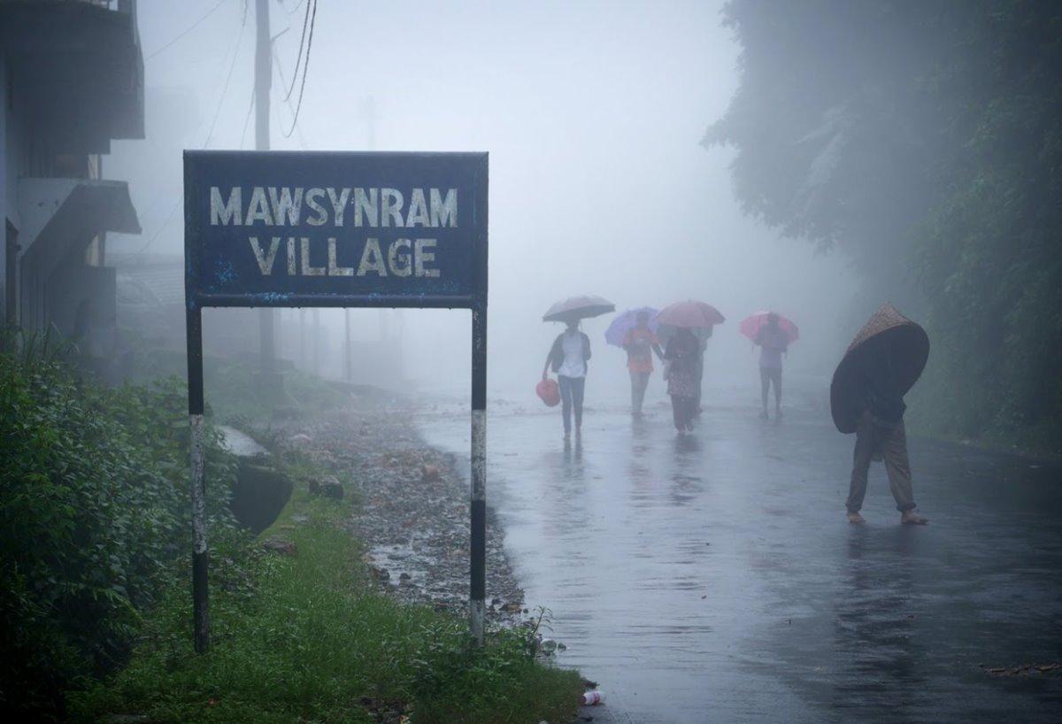 Το πιο υγρό μέρος του κόσμου είναι στην Ινδία