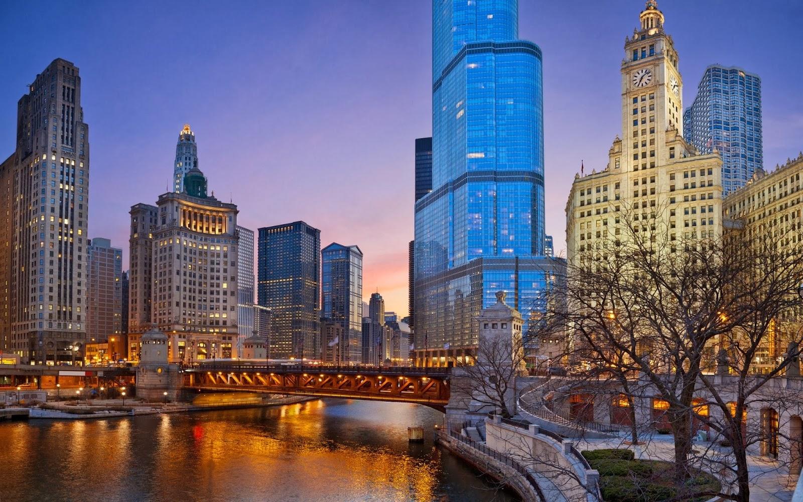 chicago-illinois-night
