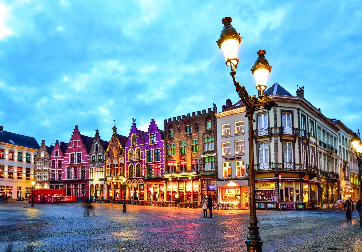Πλατεία Burg, Μπριζ, Βέλγιο