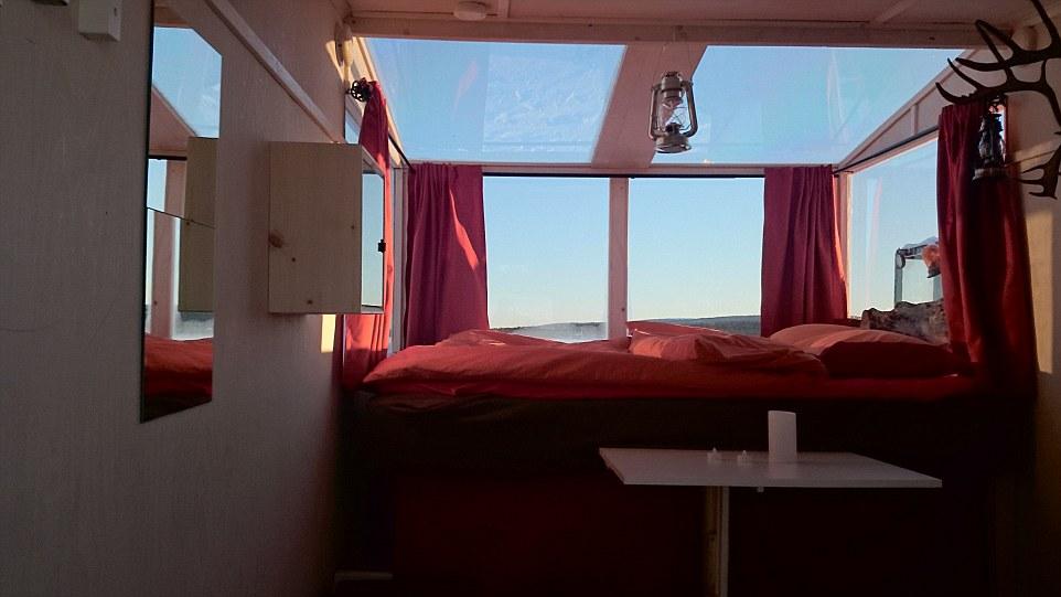 λίμνη Inari δωμάτιο