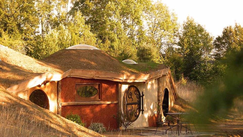 Samsaget Hobbit House εκκεντρικό κατάλυμα εξωτερικά