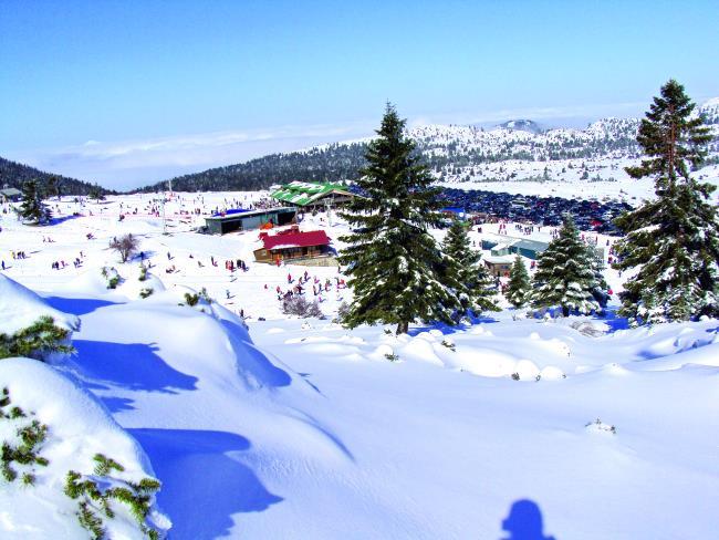 Χιονοδροµικό κέντρο Καλαβρύτων icons