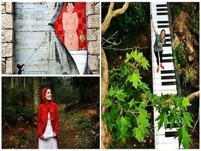 Χαλκιδική: 10 γυναίκες μεταμόρφωσαν ένα ολόκληρο χωριό με τα πινέλα τους!