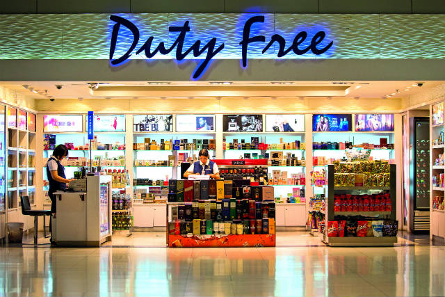 duty free αεροδρόμιο