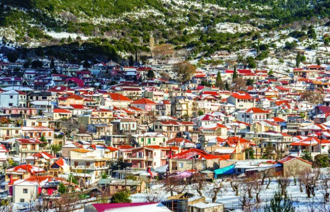 Κυριάκι - Παρνασσός χωριά