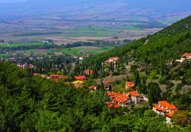 Πολύδροσος - Παρνασσός χωριά