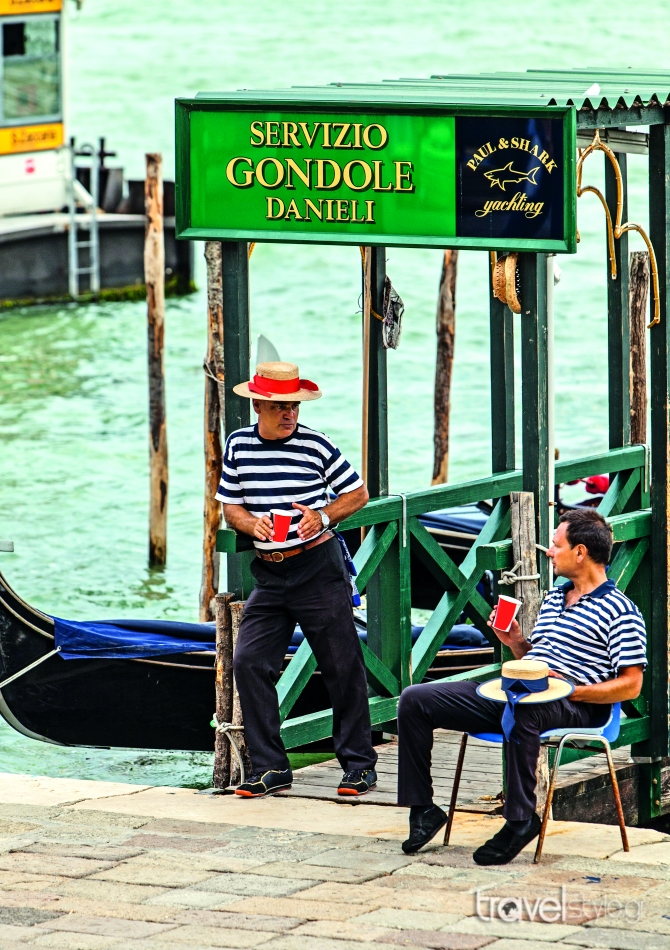 Βενετία Γονδολιέρηδες