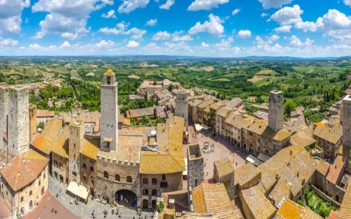San Gimignano, Ιταλία