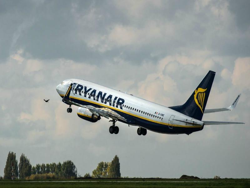Ryanair δρομολόγιο
