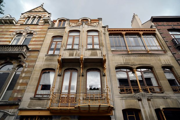 art nouveau αρχιτεκτονική Βρυξέλλες