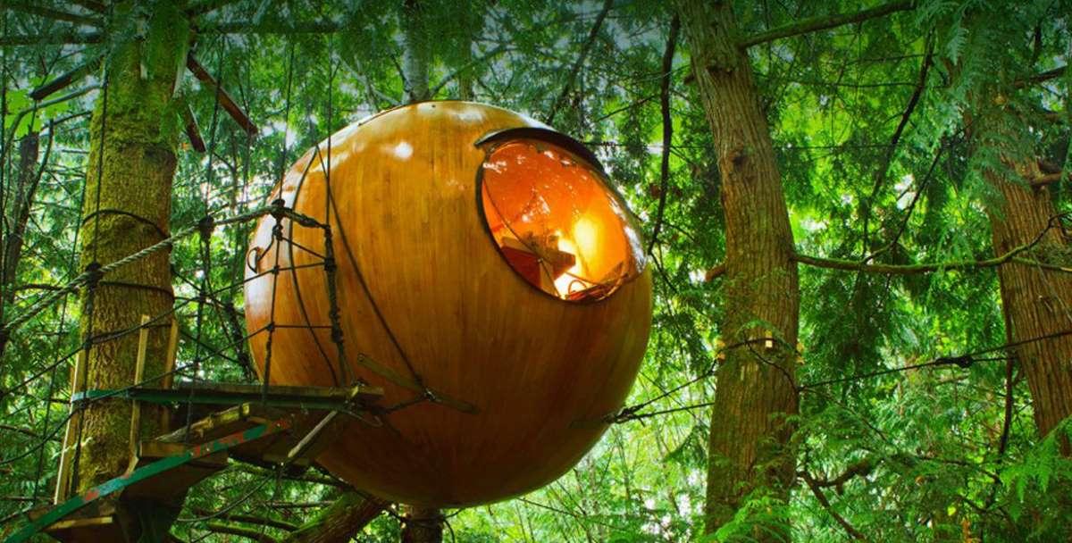 Free Spirit Spheres, Βανκούβερ - ξενοδοχείο
