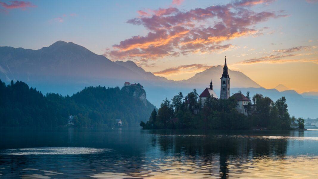 Λίμνη Bled Σλοβενία