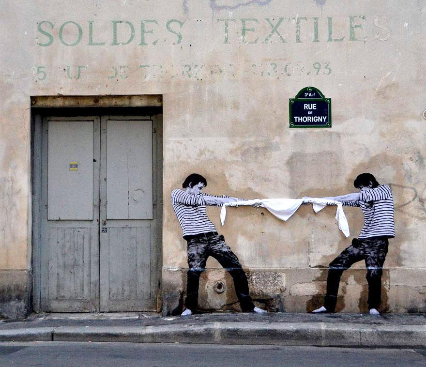 graffiti, Παρίσι