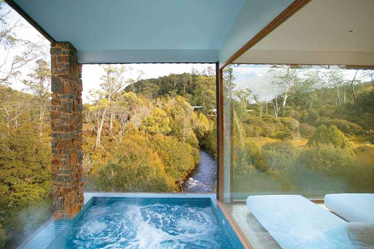 Peppers Cradle Mountain Lodge, Τασμανία - spa