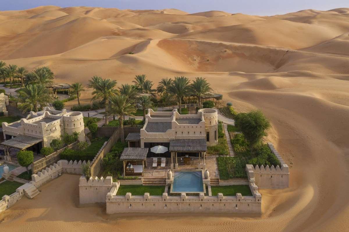 Qasr Al Sarab resort, Άμπου Ντάμπι